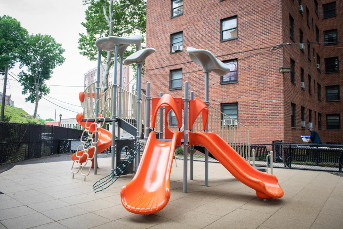 Margotta Courts New Playground June 2018
