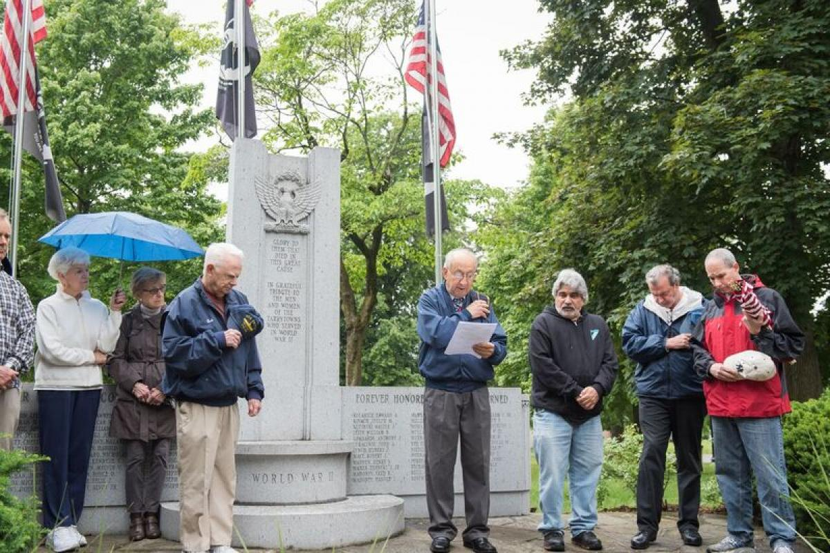 Memorial Day Ceremony, Patriots Park - May 29 2017
