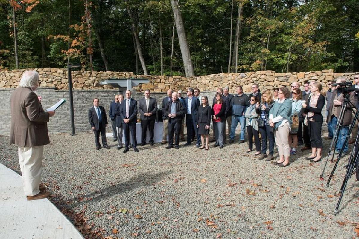Water Tank Ribbon Cutting Ceremony 10/13/2017