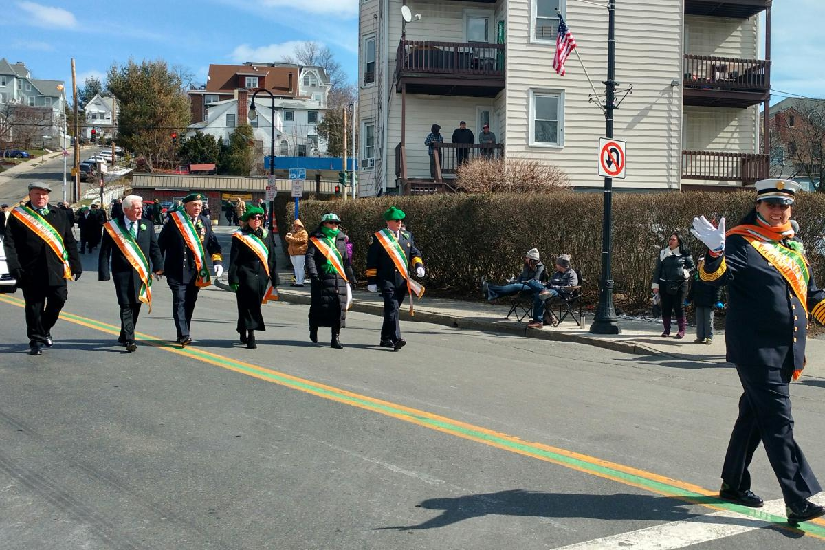 Grand Marshall- Tarrytown Fire Chief Kelly Murphy & Aides