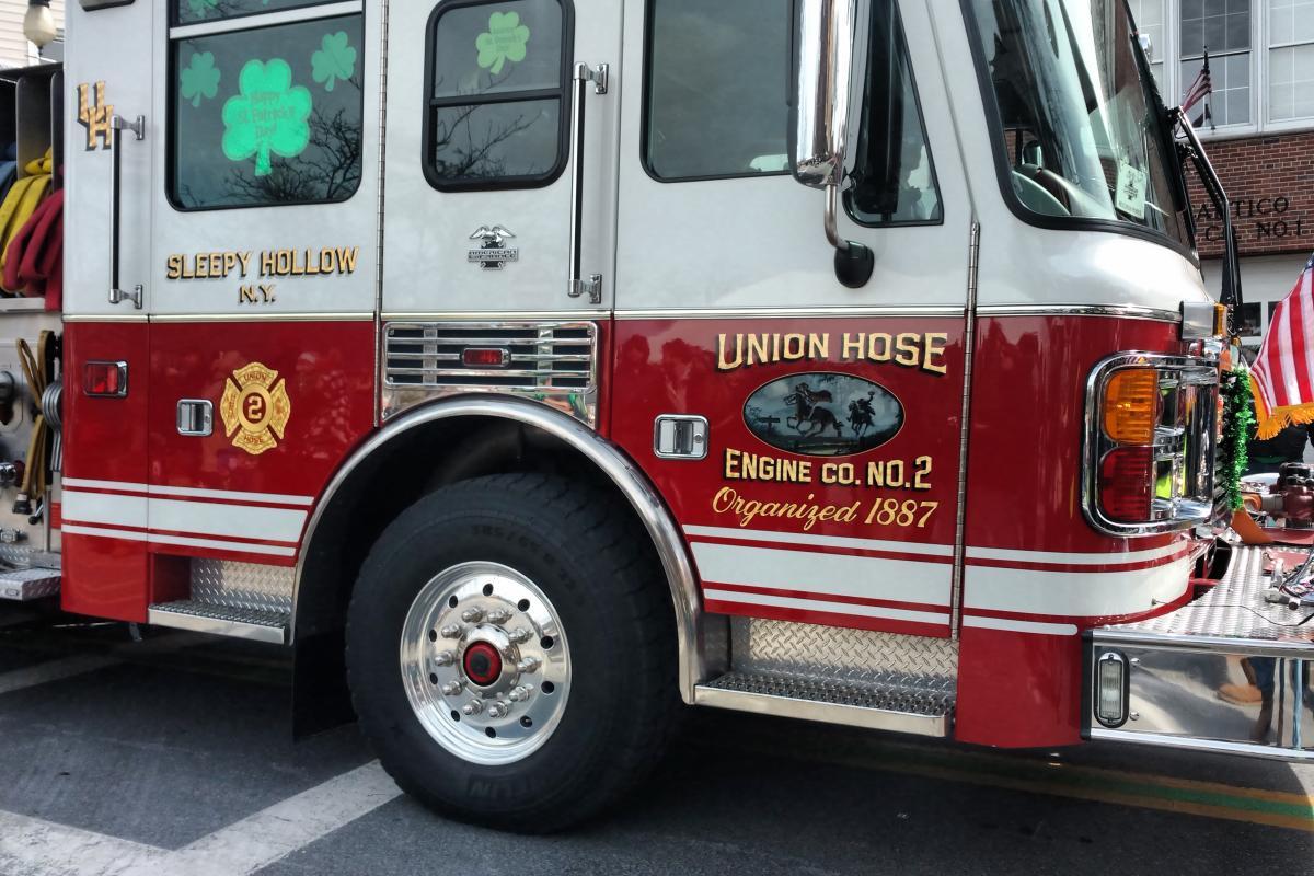 Union Hose Fire Truck