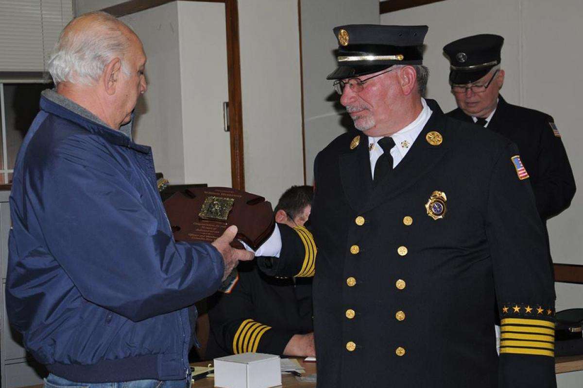 Chief Hennessey Celebrates 50 Years of Active Service