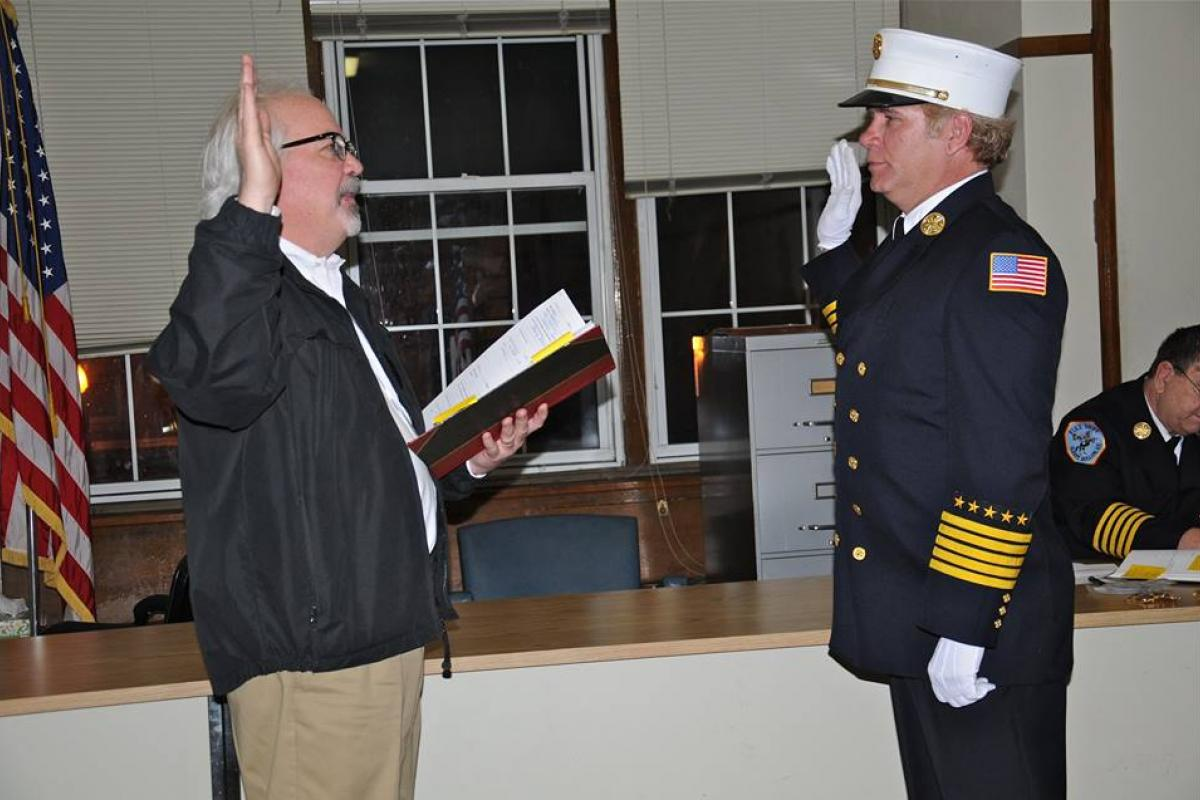 John Korzelius, Fire Chief Engineer 2016-2018