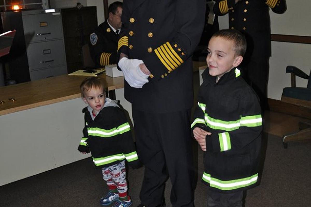 Michael Tavano, 1st Assistant Fire Chief 2016-2018