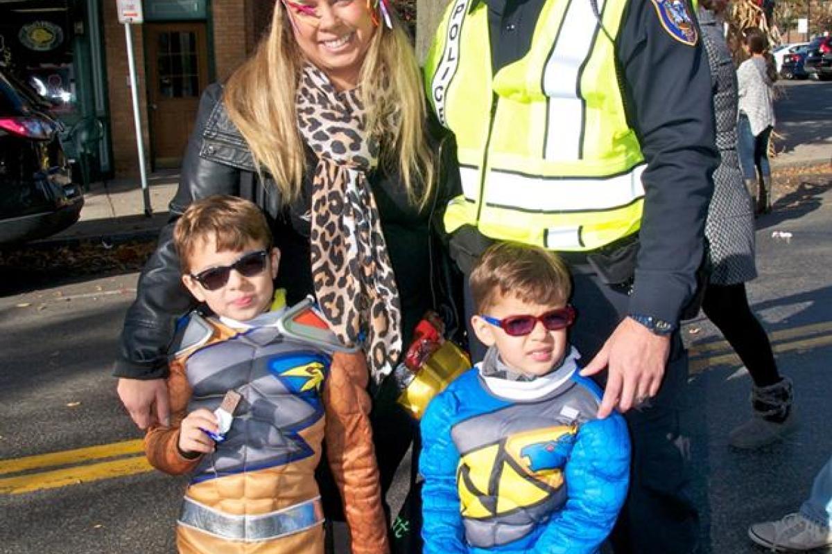 Kids Parade in Sleepy Hollow, October 31, 2015