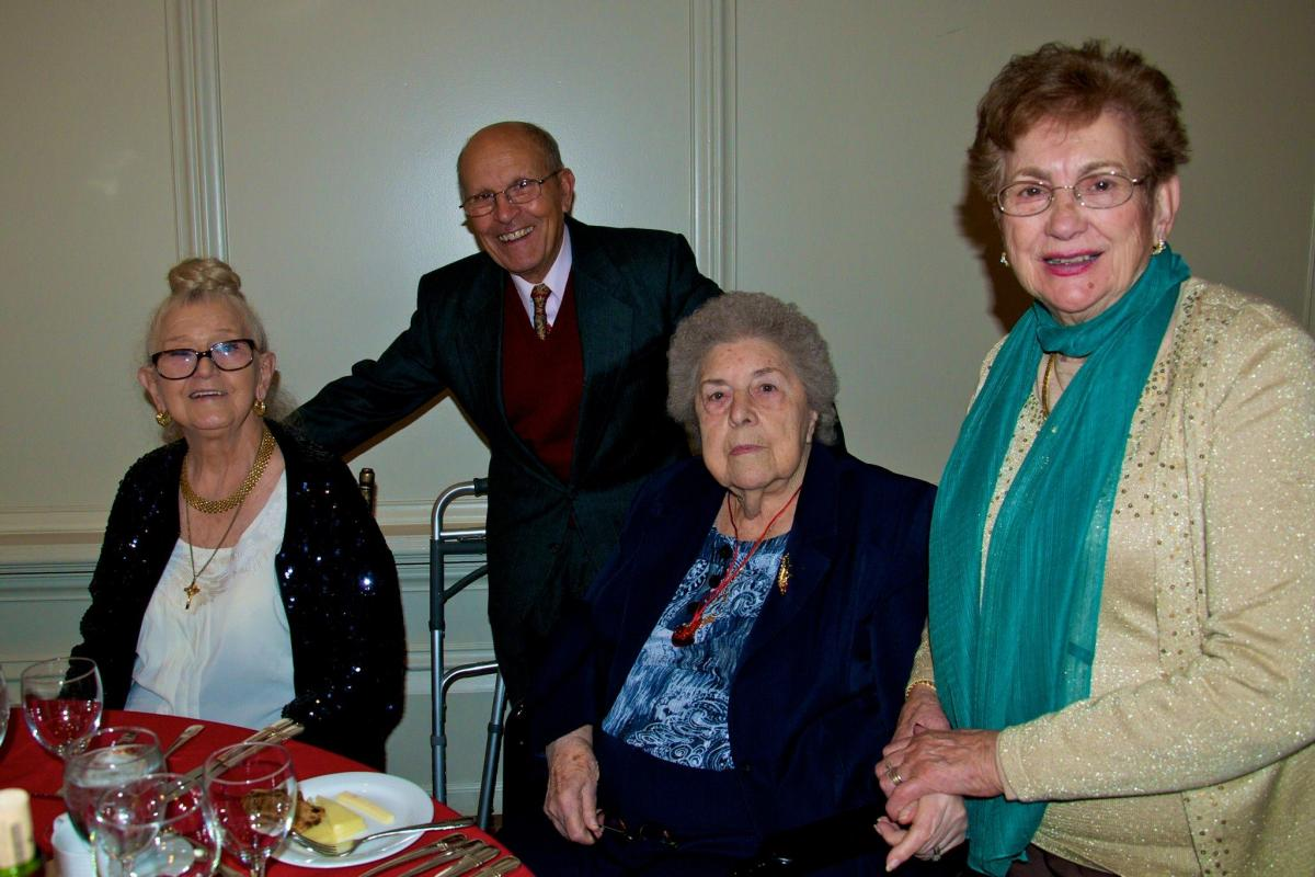 Seniors Holiday Party 2015